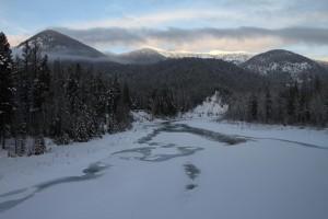 View from West Glacier bridge