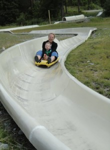 Alpine slide at Whitefish Mountain Resort - Perfect for kiddos (and adults!)