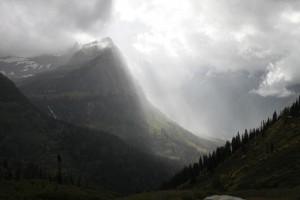 Saw a glimpse of heaven in Glacier National Park.
