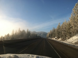 En route to Paradise. Montana was in fine form.