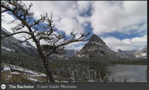 Two Medicine in Glacier National Park. (screenshot from ABC)