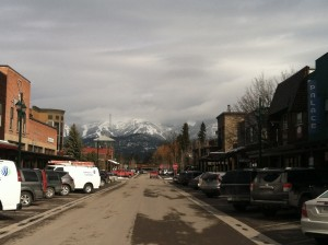 Downtown Whitefish. Adorable.