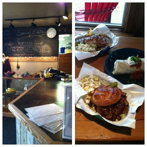 Base Camp Cafe in Columbia Falls serves up mouth-watering dishes. Plus, it's adorable.