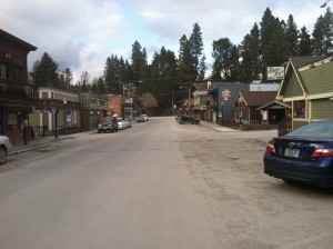 Downtown Bigfork.