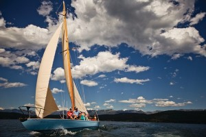 A sailing trip on the largest natural freshwater lake in the West--Flathead Lake.