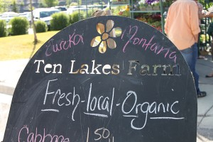 It's farmers market time in Eureka, Montana.