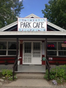 Stop #3: Park Cafe in St. Mary. Not only are their servers hilarious, but they literally have the best pie in the West. (You can totally quote me on that).