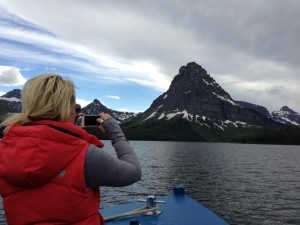 Stop #7: A boat tour at Two Medicine with Glacier Park Boat Company.