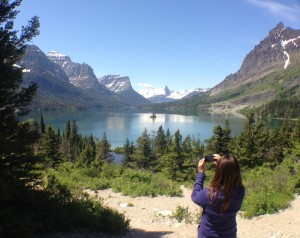Stop #4: Wild Goose Island Overlook on St. Mary Lake.