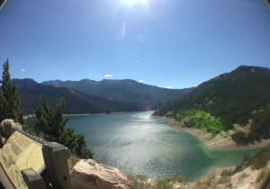 Gibson Dam overlook.
