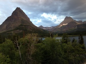 The early morning mystery at Many Glacier in Glacier National Park.