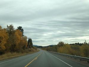Cruising Montana Highway 200.