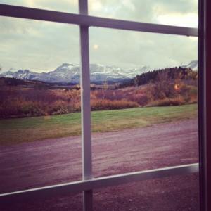 Fall in Montana. Hubba, hubba.
