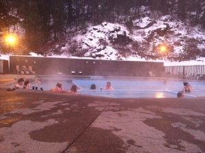 A soak in one of Western Montana's hot spring pools.