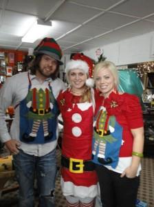 Three little elves.