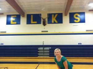 Visiting my hometown. Go Elks!