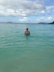 Ending the year in St. John, with my 406 hat.