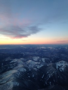 Taking in a bird's eye view of Western Montana.