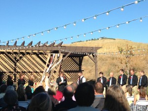 Celebrating a Missoula wedding.