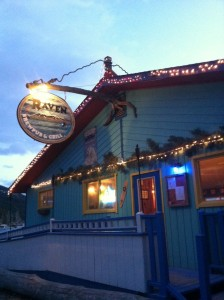 The Raven in Woods Bay (just south of Bigfork).