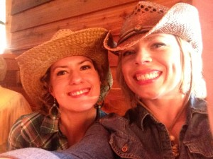 Cowgirls take selfies too, right?