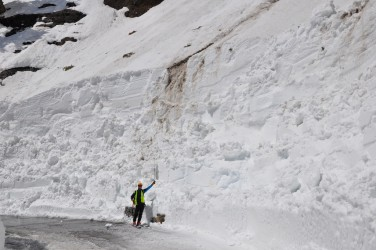 Holy snow.  Photo courtesy: GlacierNPS