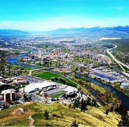 Missoula from Mount Sentinel.  Photo: Chris Mickey