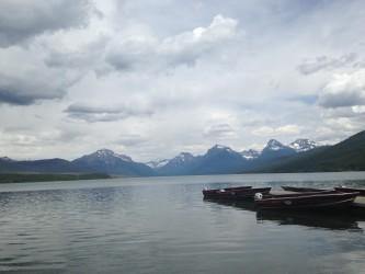 Lake McDonald from Apgar Village.