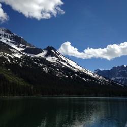 Oh, hey gorgeous mountain.