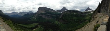 My most recent view from the Going-to-the-Sun Road, taken in 2013. Sigh.