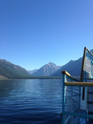 Lake McDonald from aboard the DeSmet.