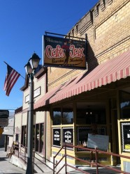The first stop in Eureka: lunch at Cafe Jax.