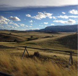 The Rocky Mountain Front, where the rolling foothills meet the mountains.