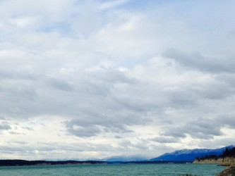 We also made a jaunt to Lake Koocanusa, a lake that Montana shares with Canada.