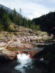 Red Rock Falls.