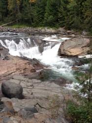 Upper Yaak Falls between Troy and Yaak.